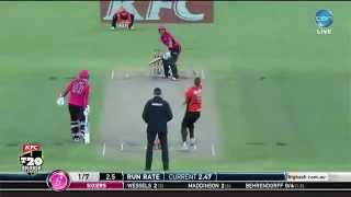 BBL Final, Scorchers v Sixers, match highlights