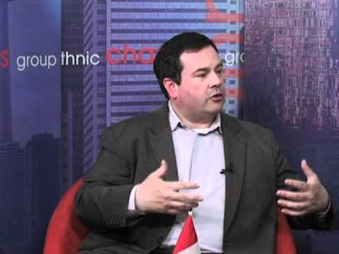 Interview with Jason Kenney. Part 1