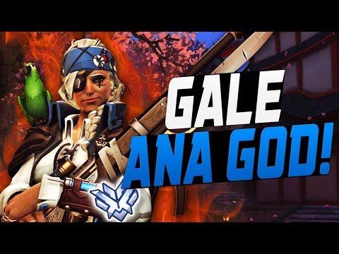 GALE RANK 1 ANA! 14K HEALING DONE! [ OVERWATCH SEASON 7 TOP 500 ]