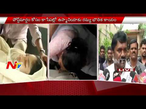 Panjagutta Accident Case : Ramya's Mother Gives Last Kisses To Her Baby | Live Updates