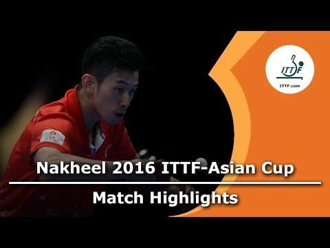 2016 Asian Cup Highlights: Jun Mizutani vs Wong Chun Ting (1/4)