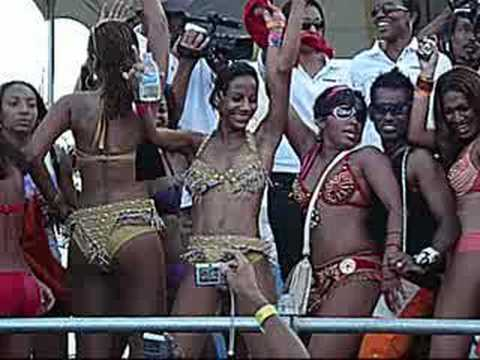 Sexy Caribbean Trini girls of Carnival 2008 Port of Spain