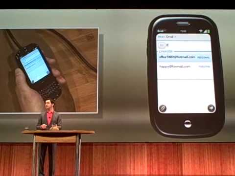 Palm Pre UI demo (3 of 5)