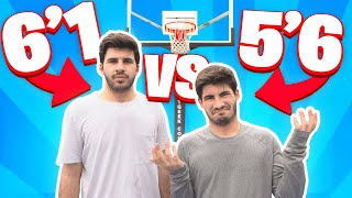 1v1 BASKETBALL VS MY YOUNGER BROTHER
