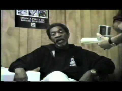 Luther Allison Live! Interview after the show. At Memphis in May 1996 Part 9 of 10.