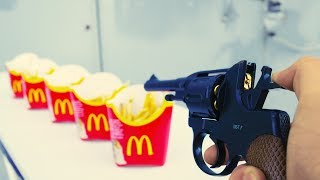 EXPERIMENT GUN vs MCDONALD