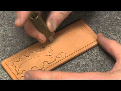 Carving Leather with Swivel Knife