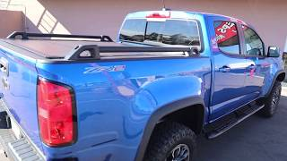 UnderCover Ultra Flex Hard Folding Truck Bed Cover On Chevy Colorado