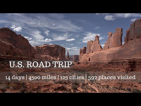 EPIC U.S.ROAD TRIP WASHINGTON TO FLORIDA | EPISODE 2