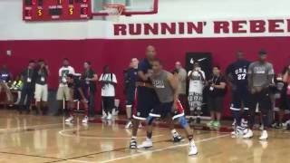 Russell Westbook One on One Drill