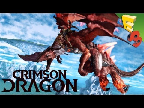Crimson Dragon GAMEPLAY! Panzer Dragoon's Kinect-Optional Successor for Xbox One