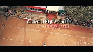 C.H.S. Junior School Sports - A Birds Eye View. - Drone Shot