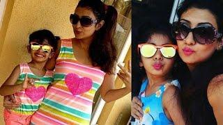 Juhi Parmar Pose With Daughter, शो के लिए 17 kg वजन घटा चुकी हैं 'कुमकुम', 2 Minute News Today