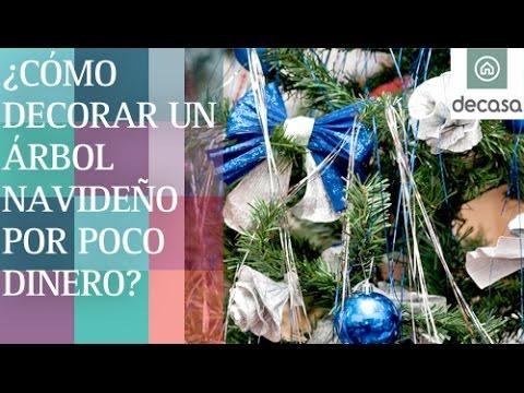 C mo decorar un rbol navide o por poco dinero diy - Decorar por poco dinero ...