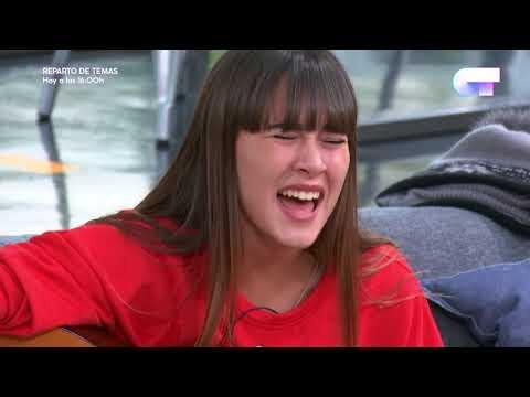Aitana canta la canción que ha compuesto   OT 2017