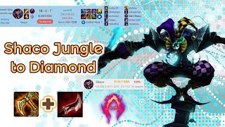Shaco to Diamond in EUNE [League of Legends] Full Gameplay - Silver/Gold Ranked - Infernal Shaco
