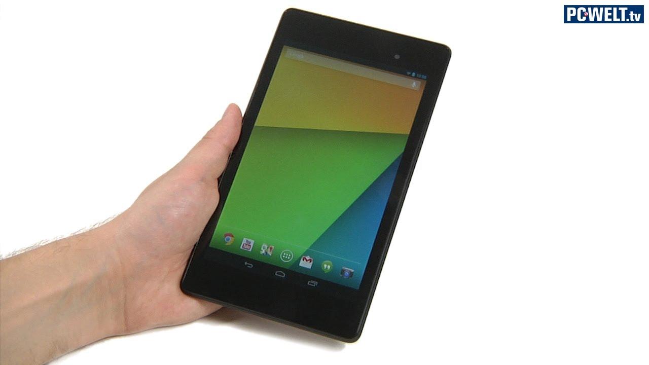 Google Nexus 7 (2013) im PC-WELT-Test