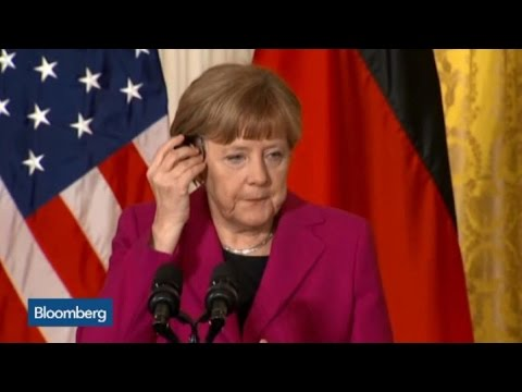 Germany's Angela Merkel Remains Firm on Greece Bailout Terms
