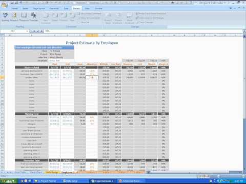 Manage Project Resources and Profits - Project Planner