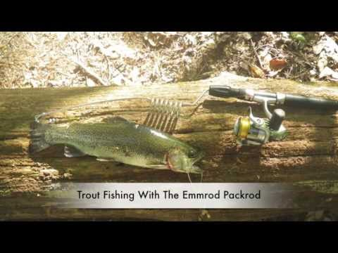 Emmrod packrod the best backpacking fishing rod trout for Backpacking fishing pole