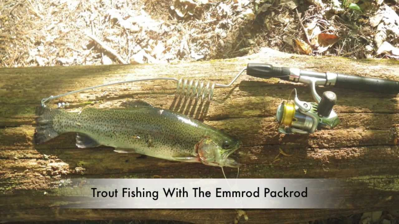emmrod packrod the best backpacking fishing rod trout