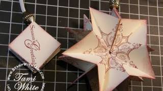 Pop Up Wow Ornament - Stampin' Up