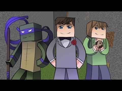 Прохождение карт Minecraft: ИСПЫТАНИЯ ДЛЯ ТРОИХ