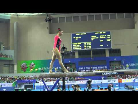 Kyla Ross - Beam - 2014 World Championships - Event Finals