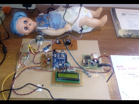 Baby Monitoring System Using Wireless Sensor Networks Camera & GSM SMS Alert