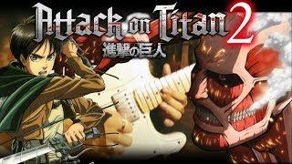 Download Lagu ATTACK ON TITAN【進撃の巨人】 - Shinzou wo Sasageyo 心臓を捧げよ (GUITAR DUBSTEP) Gratis STAFABAND