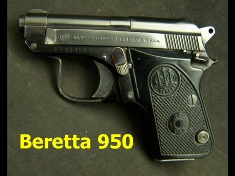 Beretta Model 950 25acp Semi-Auto Pistol