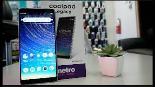 CoolPad Legacy Unbxing and First look For metro By T mobile