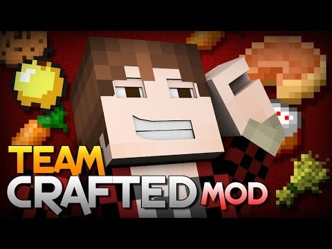 Minecraft: TheBajanCanadian from the Team Crafted Mod (Mod Showcase)