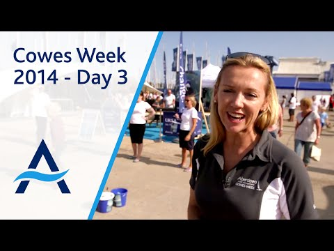 Cowes Week 2014 - Day 3 Highlights