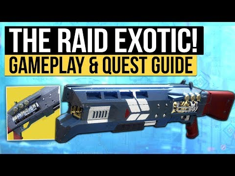 Destiny 2 | THE RAID EXOTIC! - How to Get Legend of Acrius & Exotic Raid Shotgun Overview!