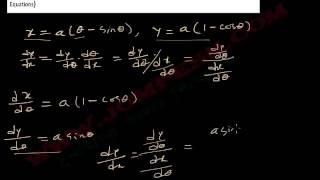 ক্যালকুলাস - অন্তরীকরণ (Differentiation) পাঠ ১৯ : পরামিতিক সমীকরণ (Parametric Equations)