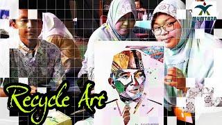 LOMBA RECYLE ART Di Madrasah Aliyah Pembangunan Ciputat [20/10/2018]