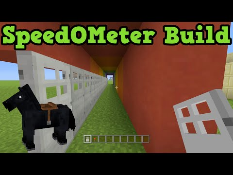 Minecraft Xbox 360 / PS3: Get The Best Horse - SpeedOMeter Build Guide