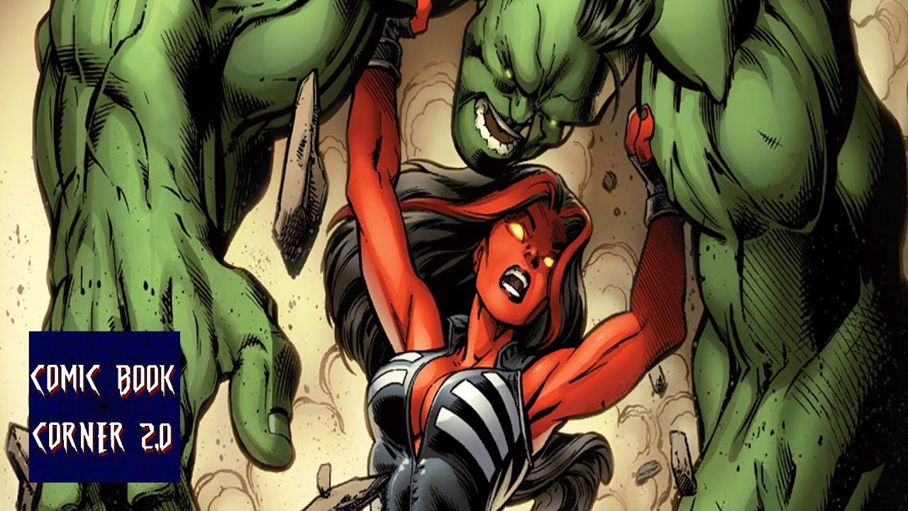 Green Hulk Red Hulk Hulk 8 Doc Green vs Red