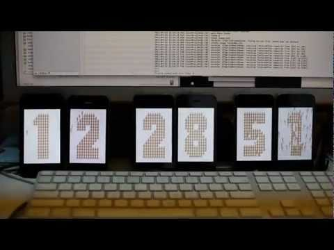 Nudemen Clock 6 Iphones video