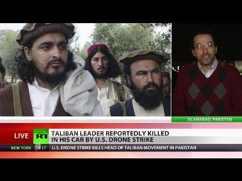 US drone strike kills Pakistani Taliban head