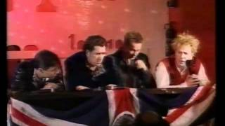 Sex Pistols Press Conference - 1995 Reunion