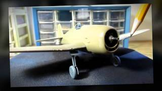 Building Eduard Models F6F-3 Hellcat. Complete From Start to Finish.