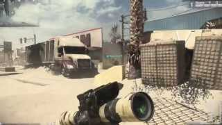 Call of Duty Ghosts | L115 Sniper Gameplay (Multiplayer Gameplay)