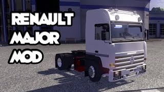 Renault Major Mod - Euro Truck Simulator 2