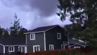 Tornado hit the Oregon Coast