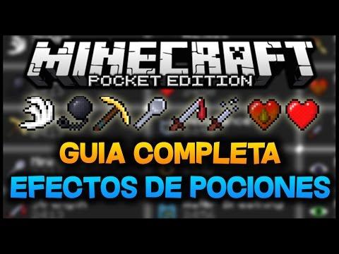 Minecraft PE 0.11.0: Efectos de Pociones | GUIA COMPLETA