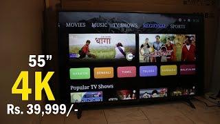 Mi LED TV 4X PRO review best 4K TV (HDR 10) to buy in India - Rs. 39,999