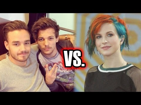 One Direction Called Out By Paramore Singer For Copying Song