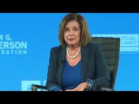 Pelosi dismisses Trump's candidacy: 'We've...